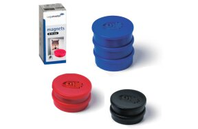 COLOURED MAGNETS D 30mm LEGAMASTER